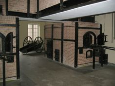Ovens in concentration camp Vught.