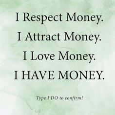 Law Of Attraction Planner, Law Of Attraction Money, Daily Positive Affirmations, Love Affirmations, Teaching Money, Miracle Prayer, Secret Quotes, Manifesting Money, How To Manifest