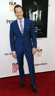 "BoyZoo   Patrick Wilson at""The Conjuring 2″ LA premiere"