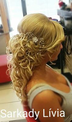 Haj#konty#alkalmi#beautyhairstyle#exluziv#SarkadyLivia#weddinghairstyle
