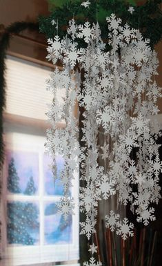 Sneeuwvlok Christmas Decor sneeuwvlokken Mobile Home Decor image 1 Winter Wonderland Decorations, Winter Wonderland Christmas, Winter Christmas, Christmas Home, Christmas Crafts, Christmas Ornaments, Nutcracker Christmas, Christmas Parties, Country Christmas