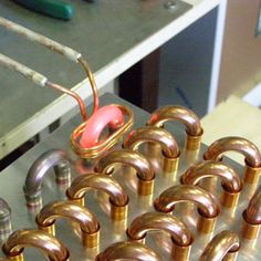 induction brazing copper tube and pipe