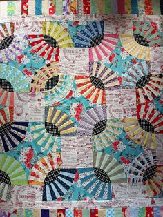 PatchworknPlay: Ginger Kisses pickle dish quilt