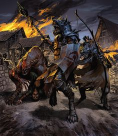 Gnolls may be my favourite race of antagonistic humanoids in D What's not to love about a bunch of savage hyena-men who hail Satan Yeenoghu every day?