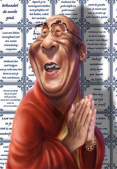 Afbeelding van http://toons-at-work.com/media/karikatuur/caricature_dalai_lama_karikatuur(1).jpg.