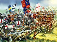 Peter Dennis - Ejército inglés en la Guerra de los 100 Años
