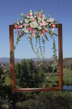 Beautiful alternative for a wedding ceremony altar or backdrop.
