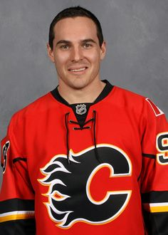 Cammy's head shot after being acquired by the Flames in January - welcome back!