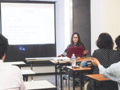 藤原裕香さん講義中 1000いいね超える秘密 http://kumahachi.me/seminar/post-1053