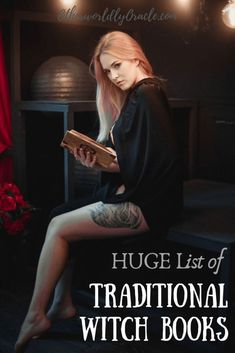 HUGE List of Traditional Witch Books including Witchcraft, Folklore, Mythology and Poison Path Books Traditional Witchcraft, Witchcraft Books, Witchcraft For Beginners, Moon Goddess, Goddess Art, The Secret History, Book Of Shadows, Occult, Folklore