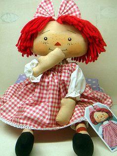 Raggedy Ann http://www.pinterest.com/Dellie4803/raggedy-ann/