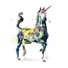 Unicorn by Lora Zombie