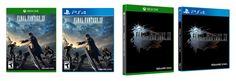 Final Fantasy XV has a cleaner, simpler reversible cover: Fancy-pants collector's editions aside, this is what the box art for Final…