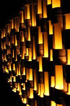 Mifuneyama Rakuen Bamboo light up Festival Japan Places To Visit, Bamboo Light, Plum Tree, Light Up, Chandelier, Table Lamp, Ceiling Lights, Travel, Candelabra