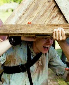 """""""I don't think she likes us very much"""" -Newt. Newt is one of my favorite characters!"""