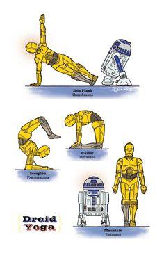 Droid Yoga!