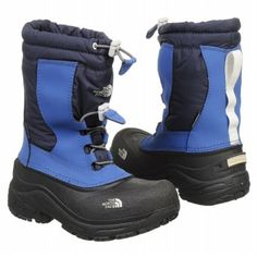 The North Face Alpenglow II Pre/Grd Boots (Jake Blue/Deep Water) - Kids' Boots - 2.0 M