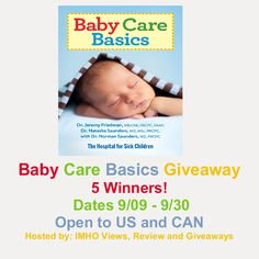 Come check out the Baby Care Basics Giveaway on my blog!  Enter daily! #Giveaway  Fabulous and Brunette: Baby Care Basics Giveaway - Enter daily!