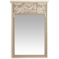 Miramon Trumeau Mirror - French Country - Pierre Deux found on Polyvore