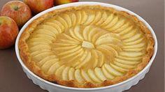 طريقة عمل فطيرة تفاح قليلة الدسم - Light apple pie recipe