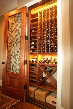 Small Wine Cellar Design Ideas, Pictures, Remodel, and Decor - page 13 in dinning