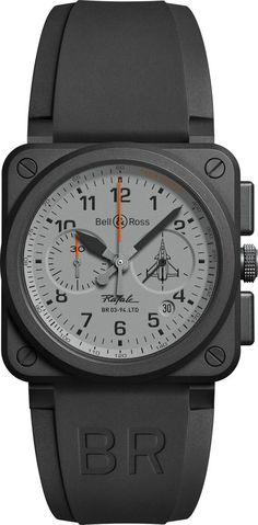 Bell & Ross - BR03 Rafale Chronograph #PrestigeGallery #BellandRossIran