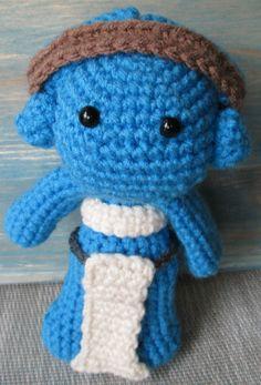 Twi'lek Star Wars Amigurumi Crochet Pattern Twilek by beachbunny