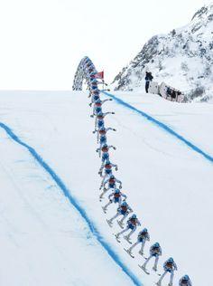 Les Jeux olympiques d'hiver par le New York Times | PeekSee.fr