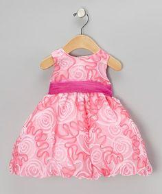 Fuchsia Ribbon Dress - Infant, Toddler & Girls