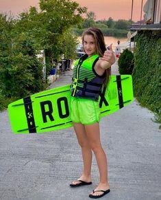 Maria este pasionata de wakeboarding si golf. Copilul tau ce sporturi practica?  🏄🏼♀️: @_mariaa.j_ ____________________________ #ronixwake #ronixromania #ronixwakeboards #rxtgang #wakeboard #wakeboardronix #placawakeboard wakeboarding #ronixstore #ronixwakeboardsromania Wakeboarding, Metallica, Fashion, Color, Moda, Fashion Styles, Fashion Illustrations