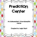 This is a language arts center activity that features photographs for the skill of making predictions. The cards feature 1 picture with a prompt. T...