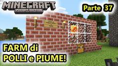 Minecraft PE - FARM di POLLI cotti e Piume! - (Salvo Pimpo's)