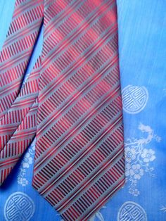 Givenchy vintage tie, twill silk, blue and red, checkered Excellent condition, clean and ready to wear Neckties, Givenchy, Silk, Red, How To Wear, Blue, Etsy, Vintage, Vintage Comics