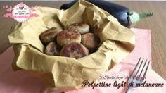 Polpette light di melanzane (20 calorie a polpetta) | LeRicetteSuperLightDiGiovi