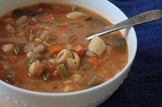 #vegan #glutenfree Minestrone Soup