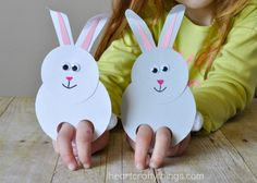60 creative and easy Easter craft ideas and tips for an amusing Easter egg hunt - living id . - 60 creative and easy Easter craft ideas and tips for an amusing Easter egg hunt – home ideas and d - Easy Easter Crafts, Bunny Crafts, Easter Art, Easter Crafts For Kids, Diy For Kids, Easter Eggs, Easy Crafts, Summer Crafts, Creative Crafts