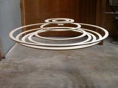 Math Craft Inspiration of the Week: The Kinetic Wave Sculptures of Reuben Margolin « Math Craft