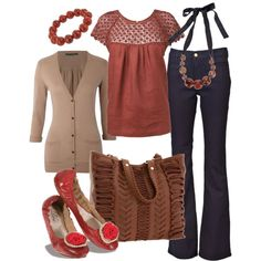 ruby red, created by htotheb.polyvore.com