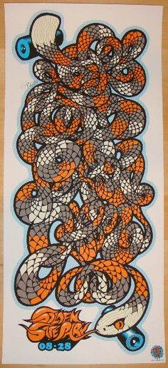 Pearl Jam - silkscreen concert poster (click image for more detail) Artist: Ames Design Venue: Outside Lands Festival Location: San Francisco, CA Concert Date: 8/28/2009 Show Edition: not signed or nu