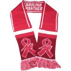 Carolina Panthers BCA Wordmark Scarf - Pink #BCA