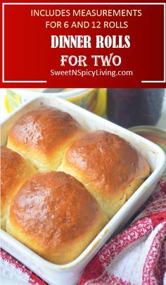 This homemade dinner roll is the best thing that could happen in your dinner table. Soft, fluffy and can be eaten on its own without even any spread. A perfect portion for sharing for two so nothing goes to waste. This dinner roll uses a very simple bread Bread Dough Recipe, Recipe For Bread, Simple Bread Recipe, Roll Dough Recipe, Biscuit Recipe, Small Batch Baking, Pan Relleno, Homemade Dinner Rolls, Homemade Breads
