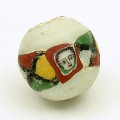 Roman mosaic beads