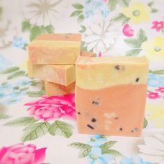 Red Mistletoe Punch Soap Lavender Patchouli by ManphorSoap on Etsy