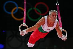 Yordan Yovchev Yovchev is a Bulgarian gymnast. He won silver in the men's rings at the 2004 Summer Olympics in Athens with a score of 9.850. In the same Olympic Games, Yovchev won bronze in the men's floor exercise with a score of 9.775. In the 2000 Olympics in Sydney, Australia, he won the bronze on both floor exercise and still rings with 9.787 and 9.762 respectively. He also won two World Championship Bronze medals in the all around (1999, 2001).