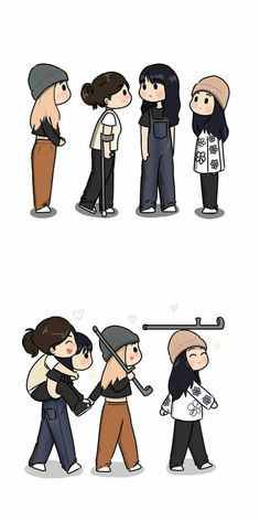 Sour Candy, Blackpink And Bts, Kpop, Iphone Wallpaper, Chibi, Entertainment, Comics, Anime, Fictional Characters