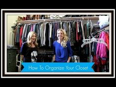 How To Organize Your Closet - YouTube