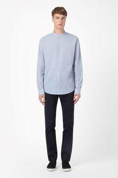 COS | Grandad collar shirt
