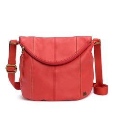 Look at this The Sak Cayenne Deena Leather Fold-Over Crossbody Bag on #zulily today!