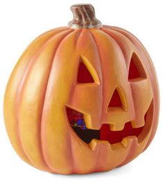 JCPenney Home Small Led Jack-O-Lantern Yard Art