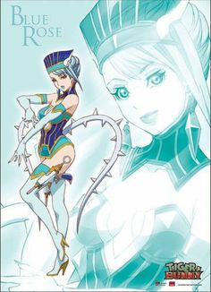 Blue Rose - Tiger & Bunny Anime Wall Scroll